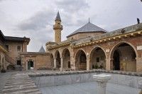 Haci Bektas Veli Museum Втори двор (Dergah)